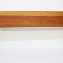 Stephen Swift Cherry Three Drawer Huntboard, Signed and Dated 2000
