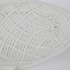 Vintage Reticulated Porcelain Fish Platter