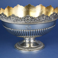 Sterling Silver Pedestal Fruit Bowl