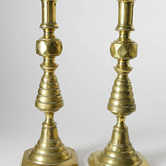 2281-955 Pair Beehive Pushup Candlesticks A_MG_4006