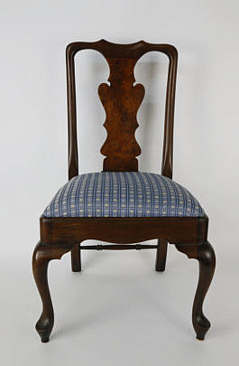 25-2632 Child's Queen Anne Style Burlwood Chair A_MG_3890