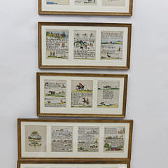 35-4890 Tony Sarg Framed Storybook A