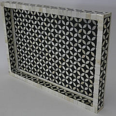 41226 White Bone and Black Resin Inlaid Tray A_MG_4043