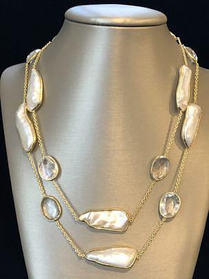 41310 Clear Quartz Necklace B