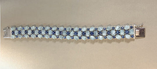 41317 Aquamarine Sapphire Bracelet A IMG_4190