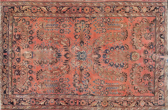 42-3830 Antique Sarouk 6.9×4.6 A 20200912_102831