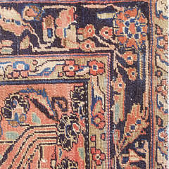 Antique Sarouk Scatter Rug