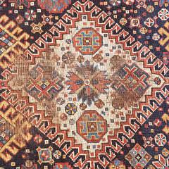 Antique Tribal Kazak Carpet