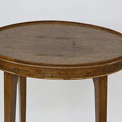 19th Century Mahogany Oval Brandy Stand