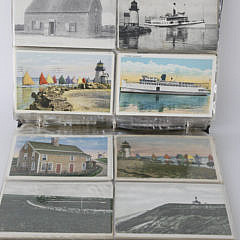 Collection of Old Nantucket Postcards