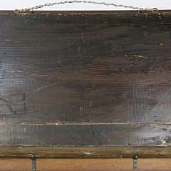 """Maritime Shadow Box of the Ship """"Amesia"""" in Full Sail, circa 1850"""