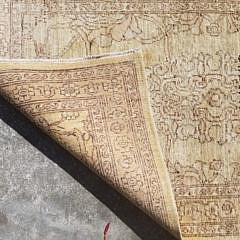 Gold Handwoven Carpet Runner