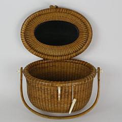 Stephen Gibbs Oval Friendship Basket