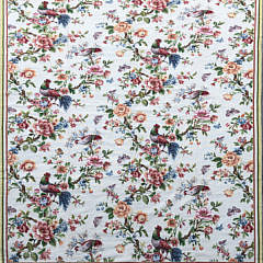10-4914 Rooster and Pheasant Needlepoint Carpet A IMG_5120
