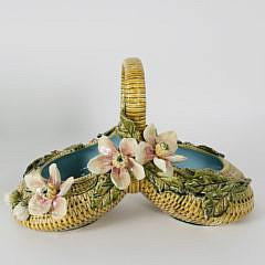 103-4621 Majolica Flower Basket A_MG_4846