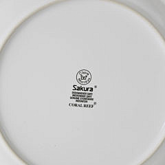 Set of 27 Claire Murray Nautical Decorated Stoneware Plates