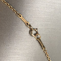 Tiffany & Co. Elsa Peretti Tri-Starfish Necklace