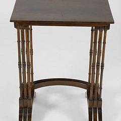 Set of Three Mahogany Nesting Side Tables
