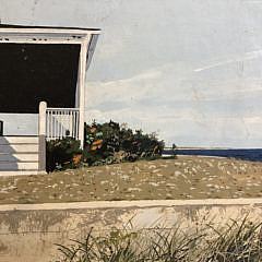 "John Austin Tempera on Board ""Beachfront"""