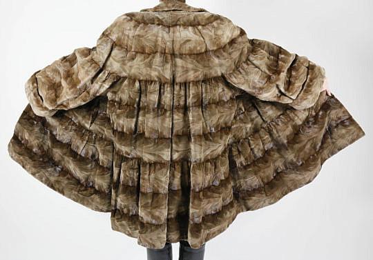 41399 Sheared Mink Swing Coat D_MG_6318