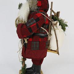 Large Adirondack Santa Claus Christmas Figure