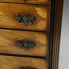 Georgian Satinwood Inlaid Chest of Drawers