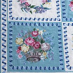 Diamond & Baratta for Stark Botanical Needlepoint Carpet