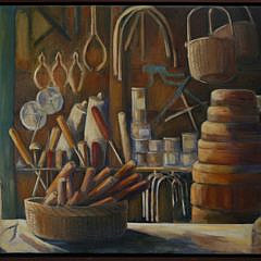 """9-4912 Jan Purdy Metcalf """"Old Basket Shop"""" A_MG_5593"""