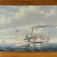 10-4740 Salvatore Colaccio Portrait of the Side-Wheeler Nantucket A_MG_7849