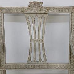 Pair of Swedish Gustavian Style Open Armchairs, 19th Century