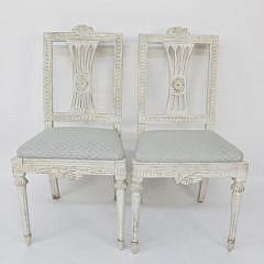 109-4935 Pair of Swedish Louis XVI Side Chairs A_MG_7677