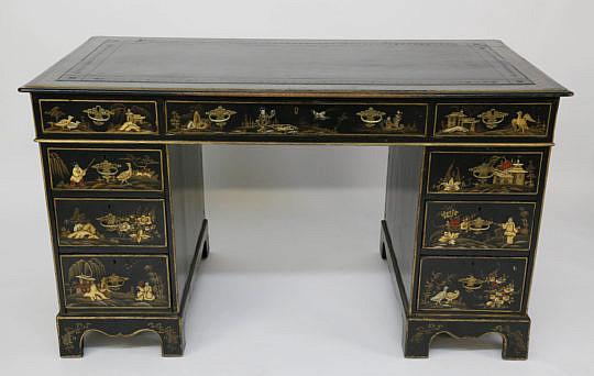 122-4935 Kneehole Desk A _MG_7544