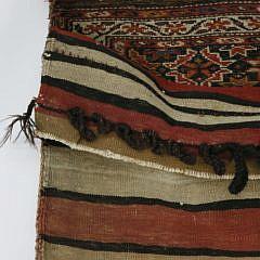 Antique Hand Woven Middle Eastern Saddlebag, circa 1900