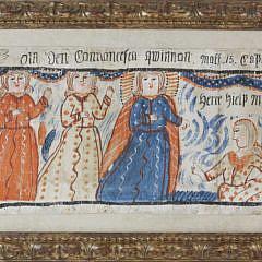 17-4935 Swedish Folk Art Bonad ca 1820 A_MG_7795