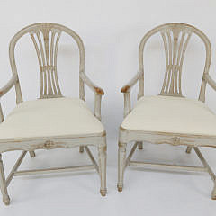 35-4935 Pr of Swedish Open Armchairs B _MG_7536