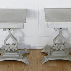 41-4935 Pair of Scandinavian Square Side Stands A_MG_7289