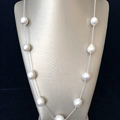 41267 White South Sea Pearl Necklace A IMG_5496