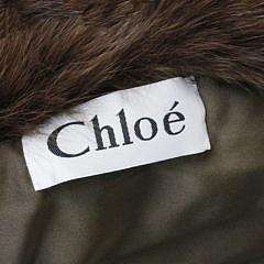 Chloe Chocolate Mink Coat
