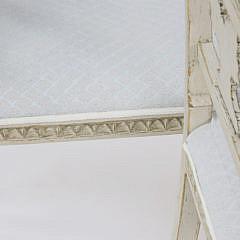 Pair of Antique Scandinavian Louis XVI Style Window Benches