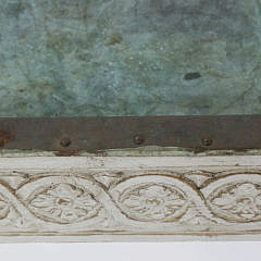 Antique Swedish Gustavian Style Lime Washed Planting Table