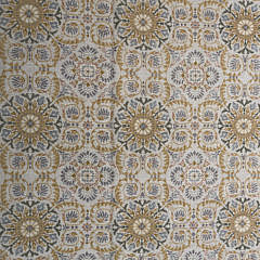 Portuguese Style Knotted Medallion Pattern Carpet