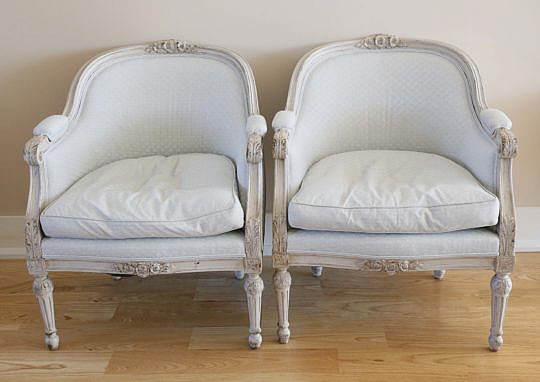 74-4935 Pair of Swedish Baby Blue Upholstered Bergeres A_MG_7402
