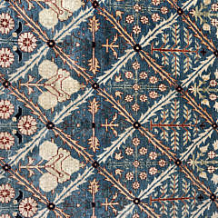 Hand Woven Shirvan Floral Design Carpet