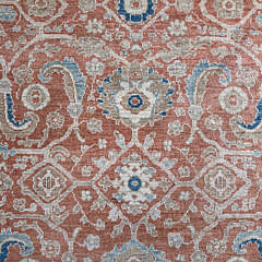 Hand Knotted Wool Peshawar Carpet