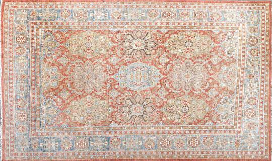 88-4935 Peshawar Wool Carpet A IMG_5640