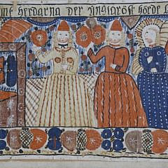 Swedish Folk Art Bonad, circa 1820