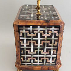 Maitland Smith Mother of Pearl Inlaid Caddy Box