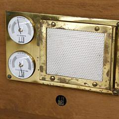 Vintage Dunhill Mahogany Humidor Box, Made in England