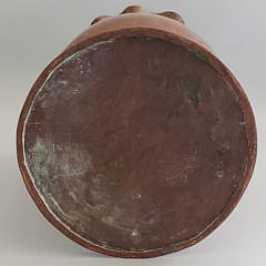 Antique Arts and Crafts Copper Free Form Vase