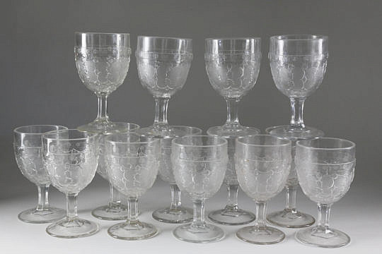 33-4898 14 American Pressed Glass Goblets A_MG_9450
